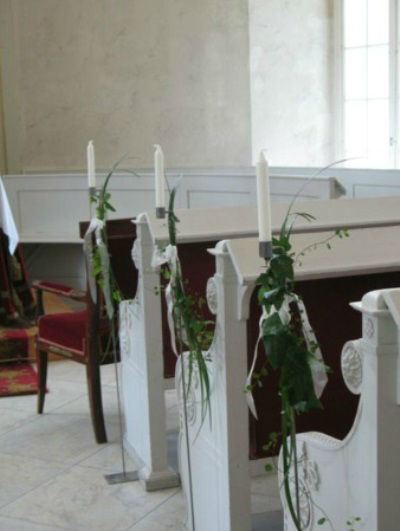 Beispiel: Kirchenschmuck, Foto: Blatt+Form.