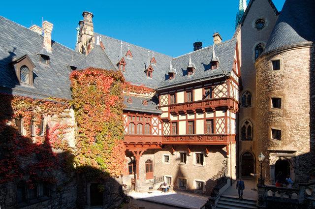 Beispiel: Aussenansicht, Foto: Schloss Wernigrode.