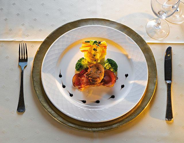 Beispiel: Speisen, Foto: Hotel Goies.