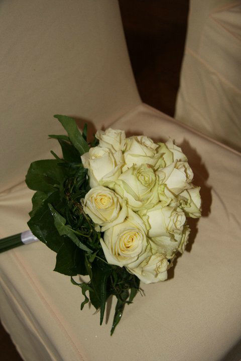 Beispiel: Hochzeitsfloristik, Foto: Garten Kochauf .