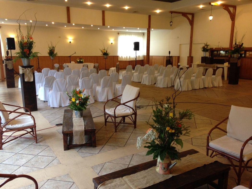 Ceremonia en el salón