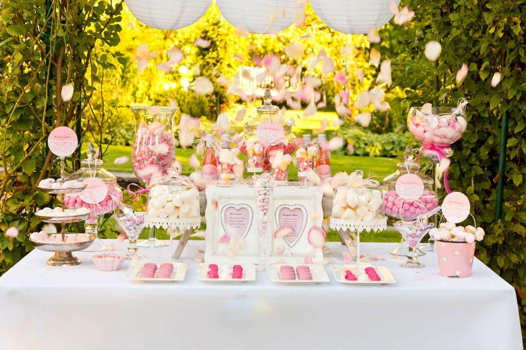 Beispiel: Candybar Blütenzauber, Foto: mycandybar.