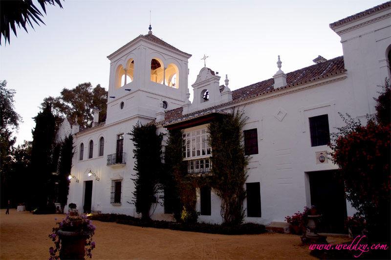 Mariage dans une hacienda en Espagne