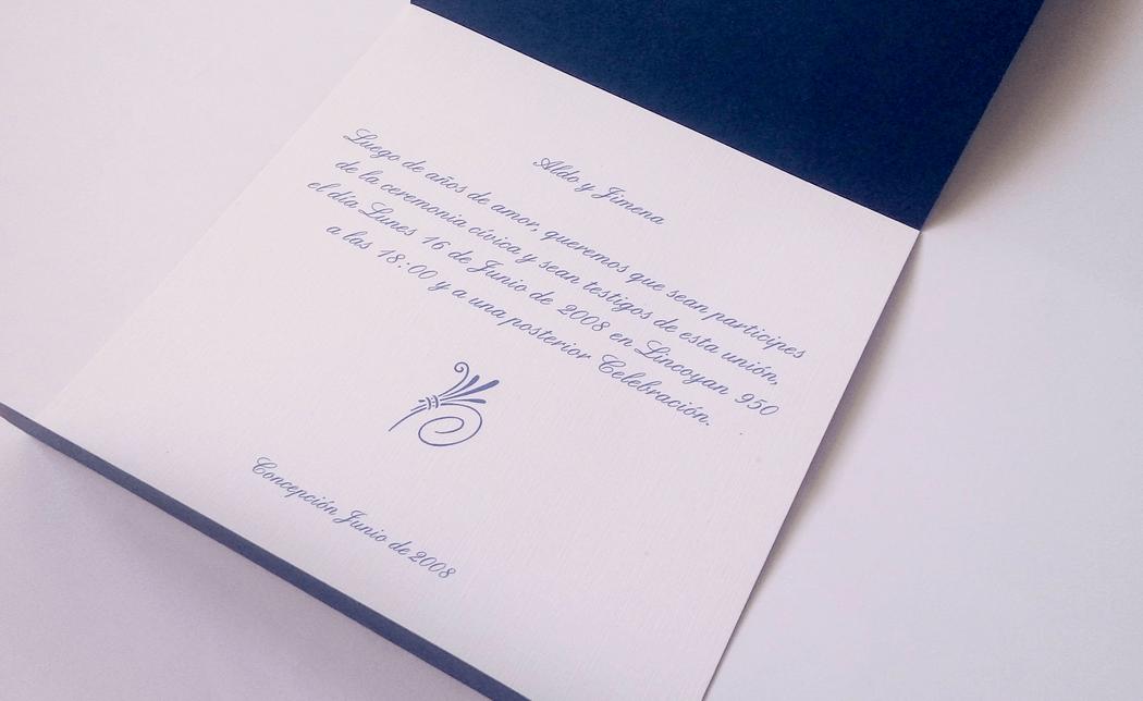 Invitación cod. 003