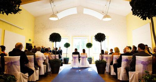 Beispiel: Freie Trauung, Foto: Landhotel Beverland.