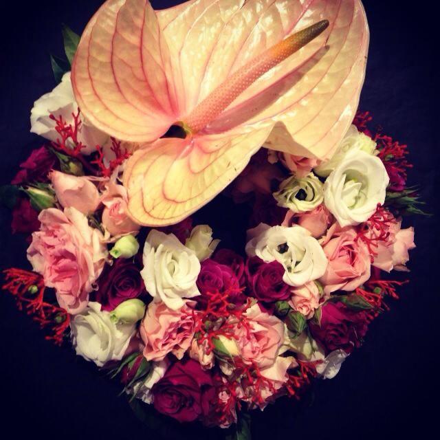 Debeaulieu -couronne florale