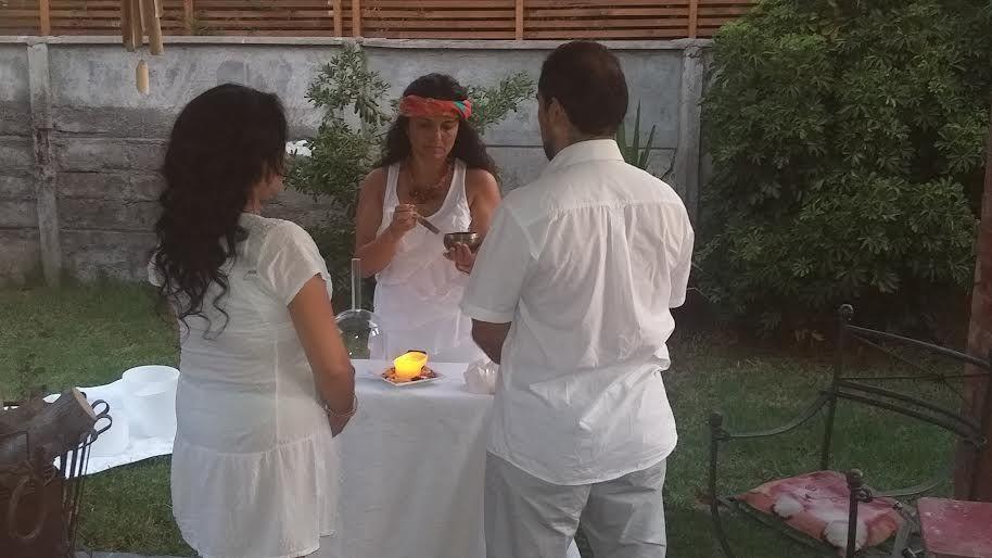 Ceremonia Simbólica en Chile