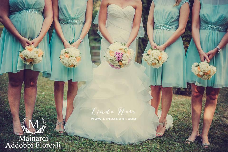 Bouquet sposa & damigelle
