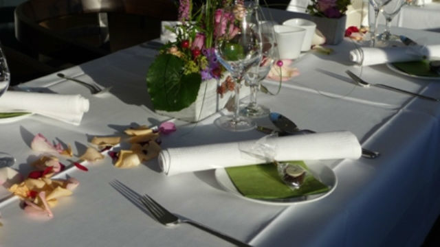 Beispiel: Tischgedeck, Foto: Emma am See.