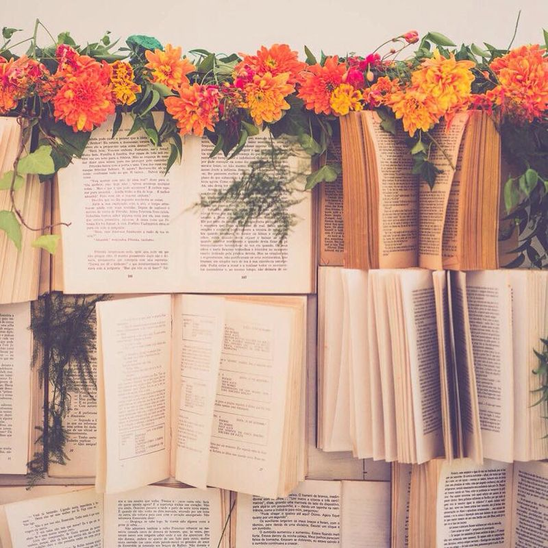 Backdrop de livros