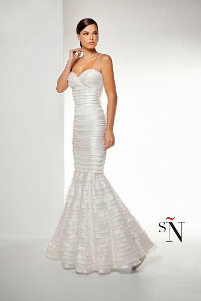 Sonia Peña, traje de novia