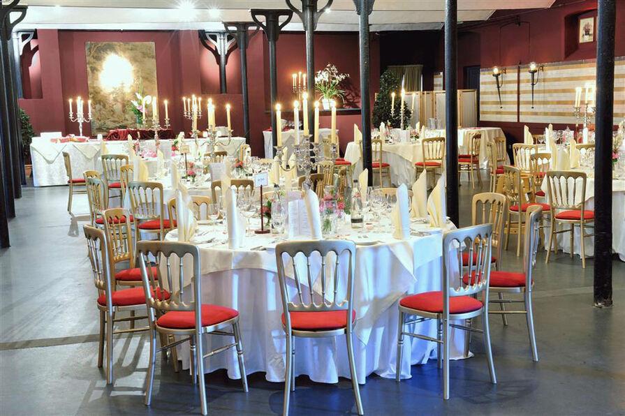 Beispiel: Endrücke aus dem Festsaal, Foto: Romantik Hotel Linslerhof.