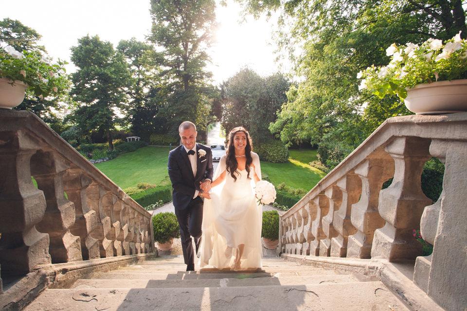 fotografo matrimonio villa calini brianza