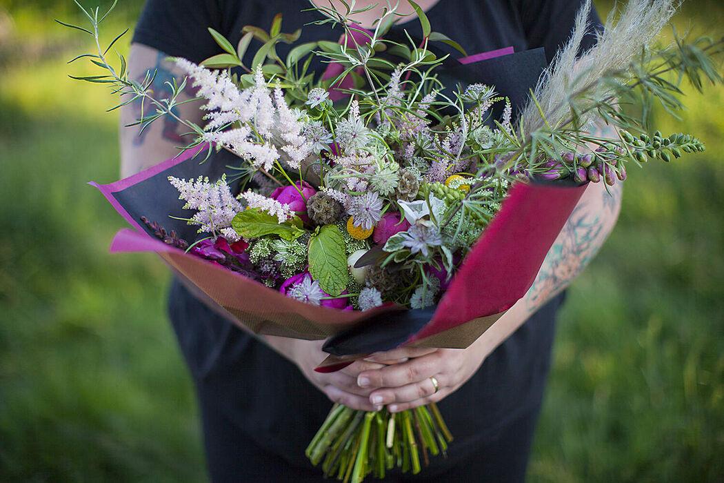 Mint And Sweet Pepper - Atelier de Jolies Fleurs