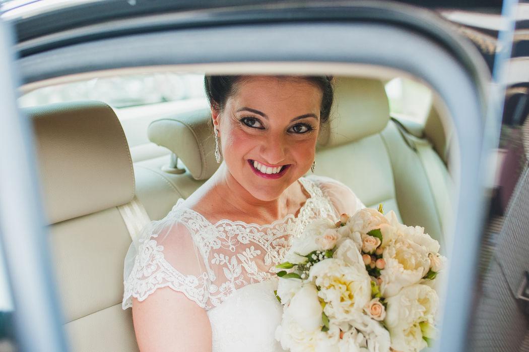 C+E Llega la novia - efeunoocho fotografía de boda