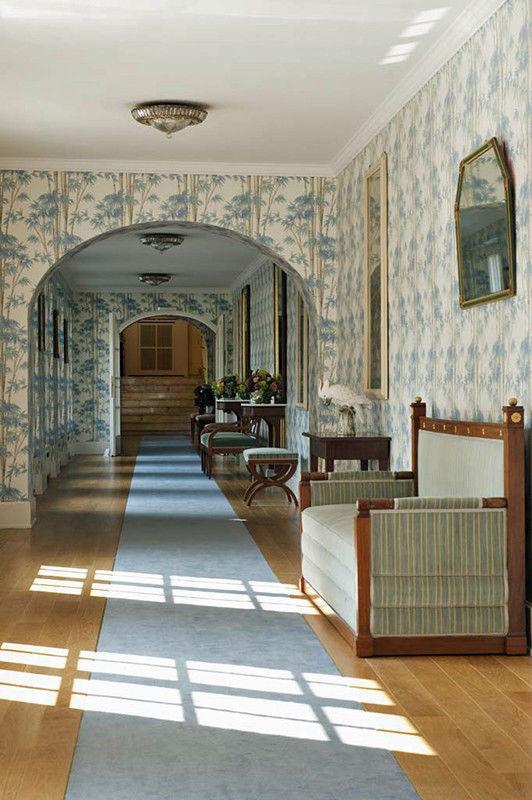 Beispiel: Blauer Gang, Foto: Grandhotel Hessischer Hof.