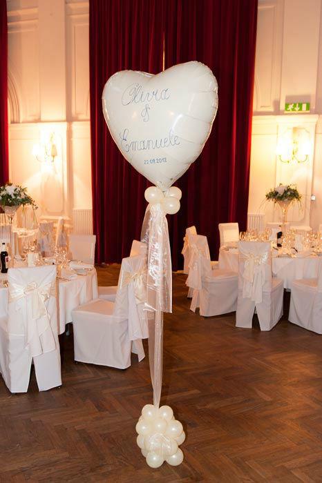 Beispiel: Gestalten Sie Ihre Hochzeit, Foto: Ballons & Ballons.