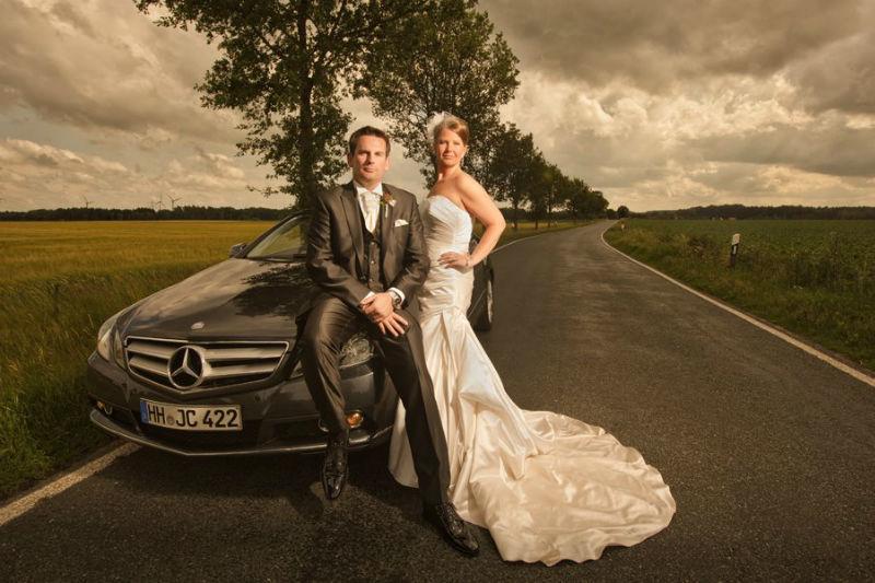Beispiel: Portrait des Brautpaares, Foto: Matthias Richter Photography.