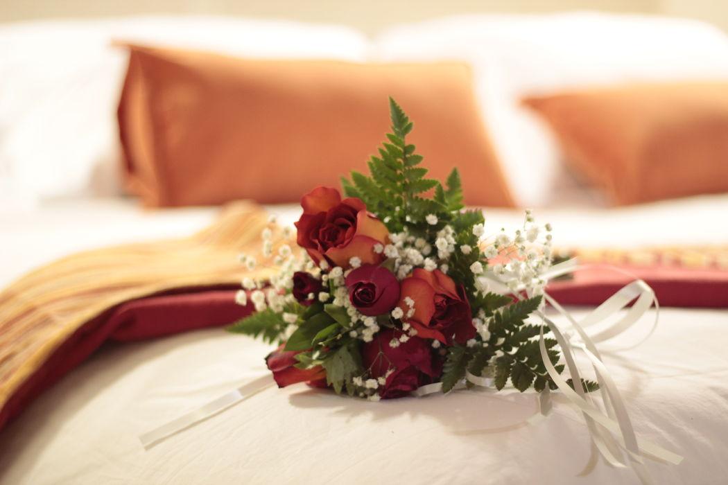 Finos detalles para tu noche de bodas!!!