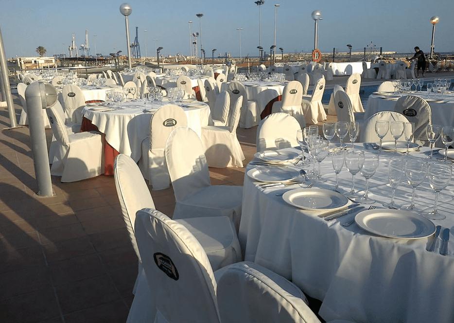 Restaurante Real Club Náutico de Castellón.