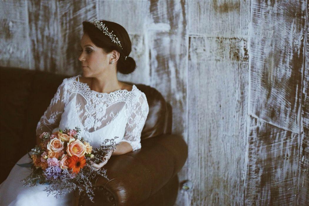 Coroa de pérolas. Foto: Thay Rabello