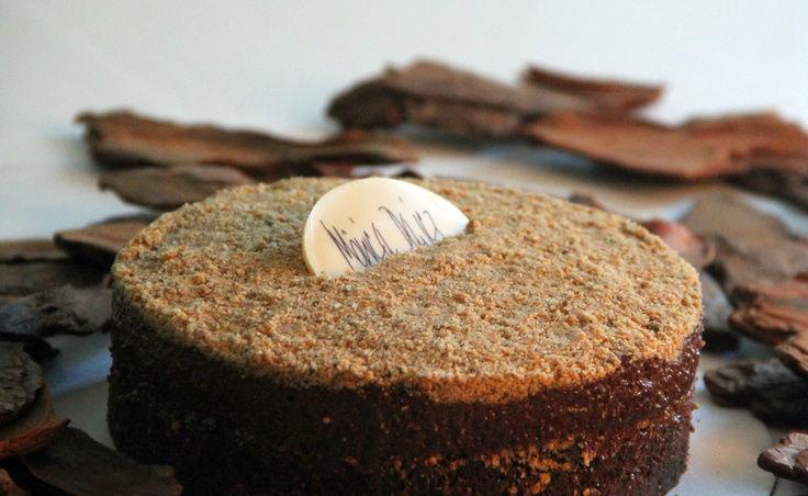 Torta de Chocolate com paçoca.