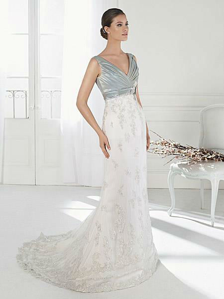 Beispiel: Mode für die Braut mit Stil, Foto: Liluca Lausanne.