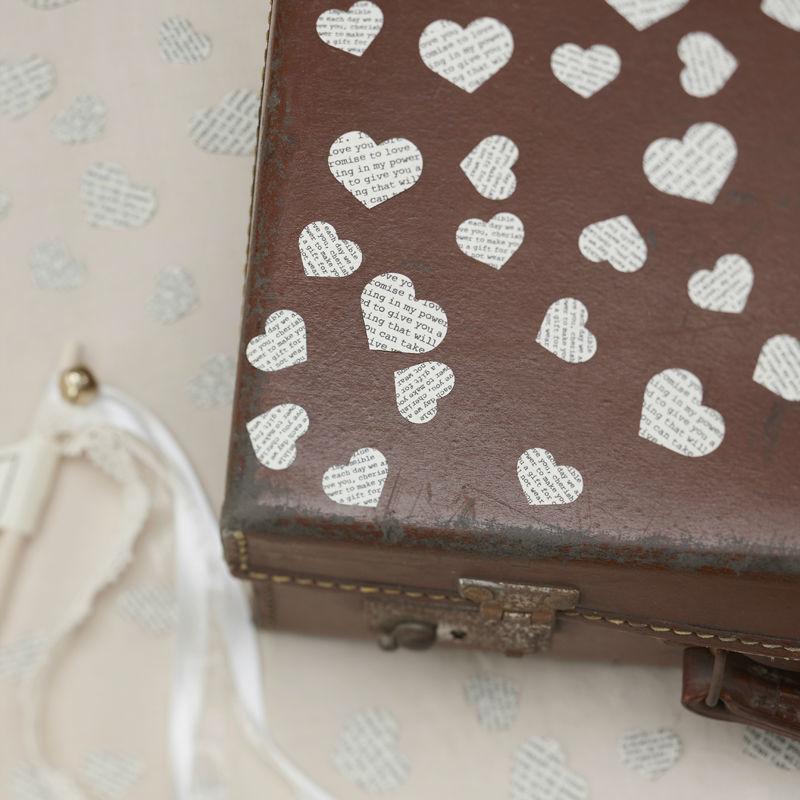 Beispiel: Herzkonfetti, Foto: HoneyHome.