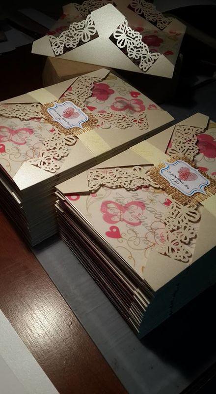 Tarjetas de Invitación Encanto