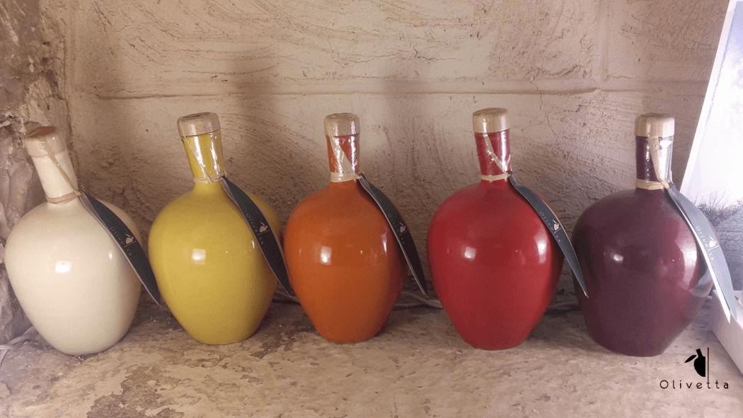 Tutte le colorazioni Olivetta