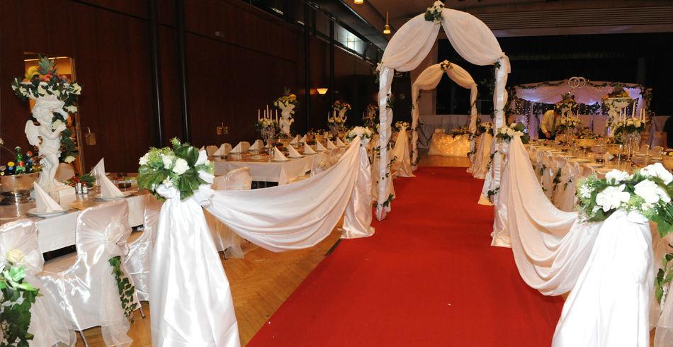 Beispiel: Einzigartige Hochzeitsdekoration, Foto: Evoy Dekor.