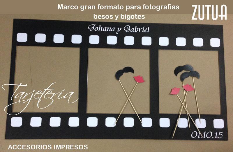 Marcos y photo booths personalizados