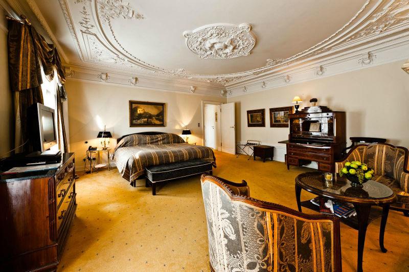 Beispiel: Juniorsuite, Foto: Hotel Kronenschlösschen.