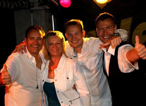 Beispiel: Bandmitglieder, Foto: Atlantis - Die Partyband.