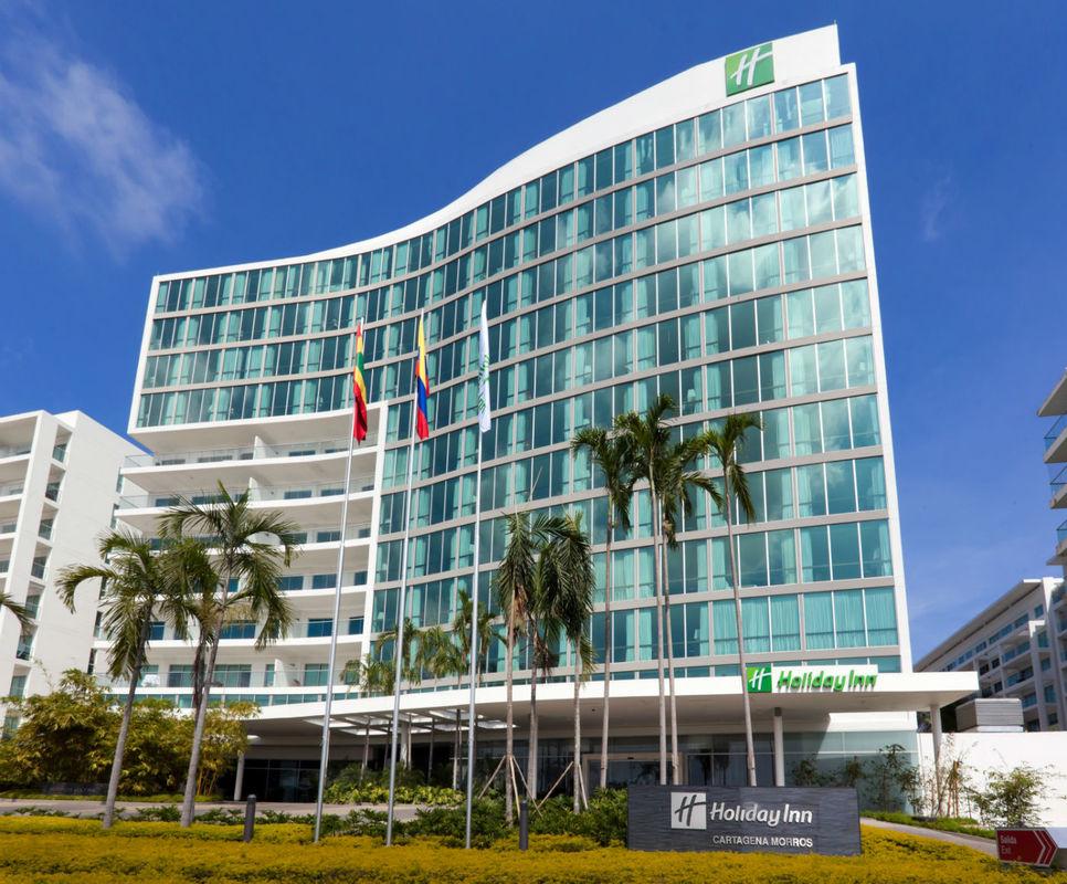 Fachada Hotel Holiday Inn Cartagena Morros