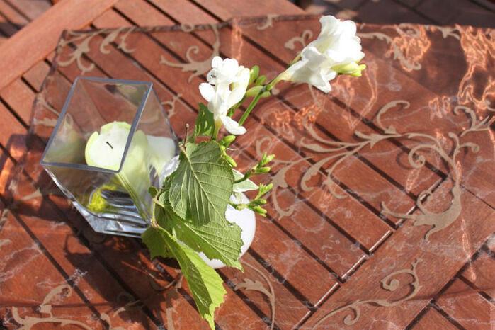 Beispiel: Tischdekoration, Foto: Milanhof.