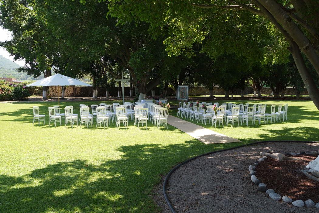 Chamilpa Eventos Sociales & Corporativos Suites Campestres