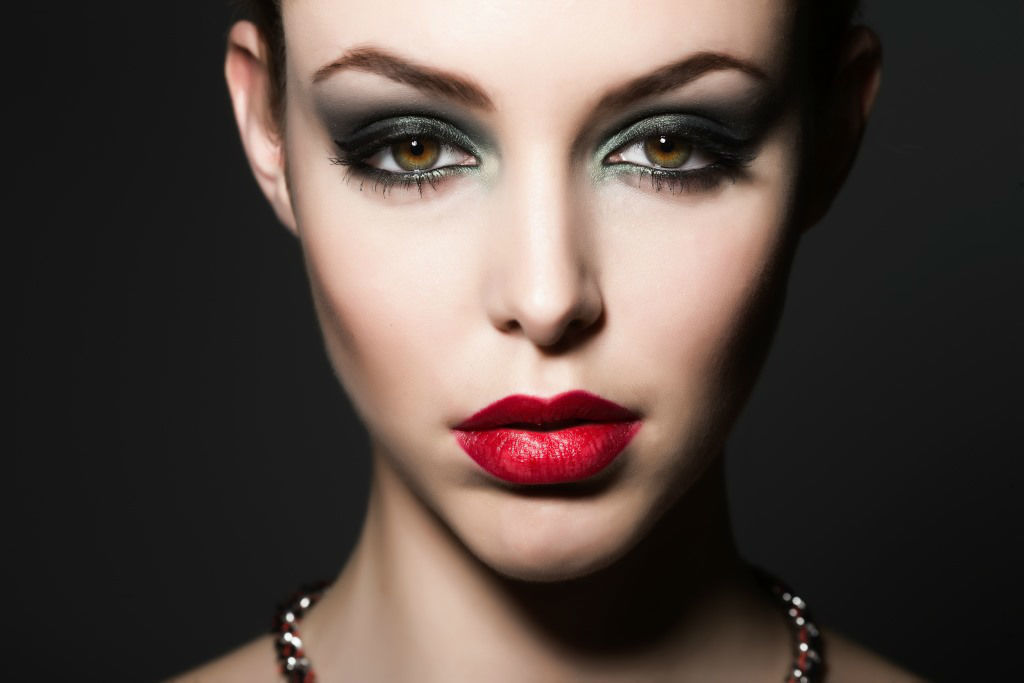 Beispiel: Professionelles Make-up, Foto: Nina Tatavitto - My perfect look.