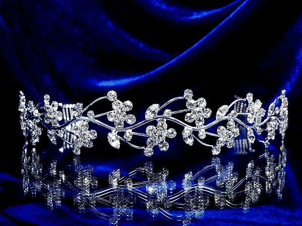 Diadème mariage Féerie - Bijoux de mariage