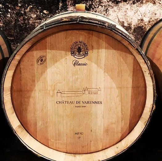 Le château de Varennes, vin