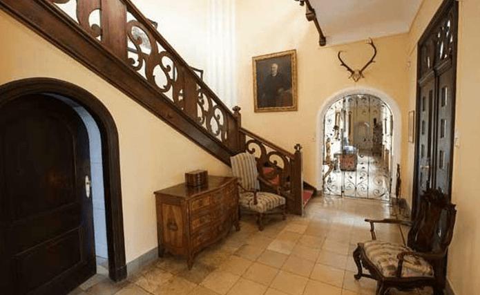 Beispiel: Treppe, Foto: Schloss Weitenburg.