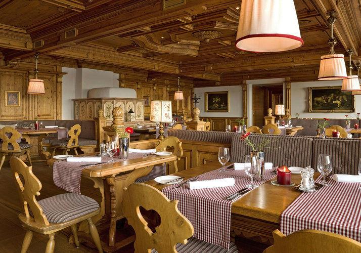 Beispiel: Restaurant, Foto: Interalpen Hotel.