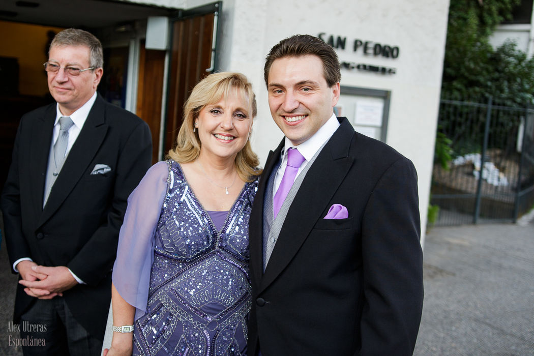 Philippe y su madre