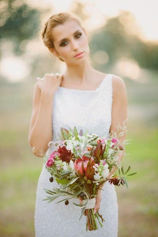 stunning bridal look