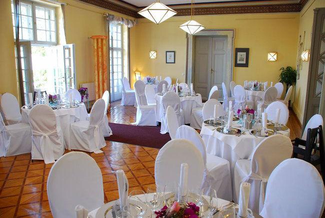 Beispiel: Hochzeitssaal, Foto: Villa Toscana.
