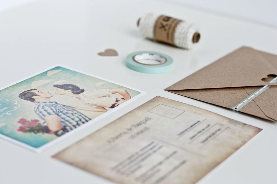 Invitación | Think in postcard