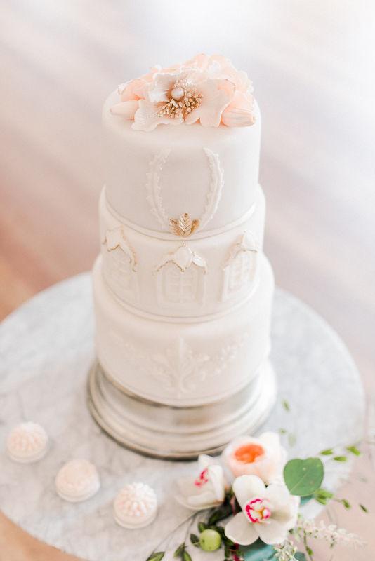 Classy weddingcake