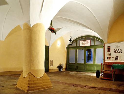 Beispiel: Eingangshalle, Foto: Renaissanceschloss Ponitz.