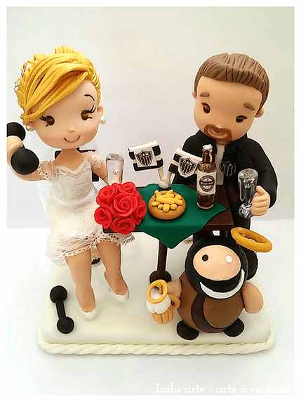 Lulu Arte - Figuras para la tarta