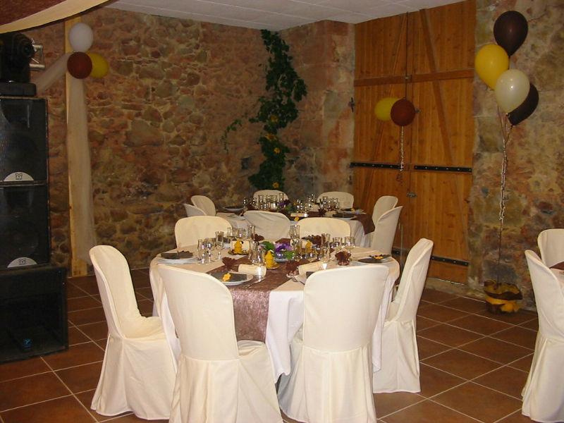 Domaine Lou Prada - la salle de réception